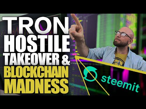 TRON x Steemit Takeover Just Turned Hostile! Epic On-Chain Moves Seize Control of Rogue Acquisition!