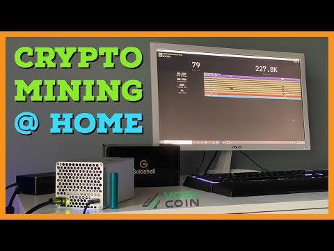 The BEST Crypto Miner for Mining at Home – Goldshell HS1-Plus