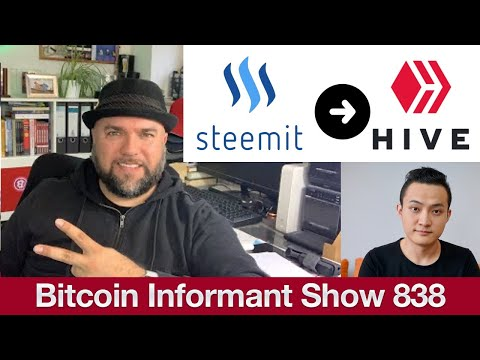 #838 Steemit Drama Justin Tron, Hardfork und AirDrop – HIVE Blockchain