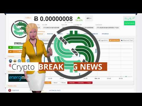 Cryptocurrency STRESScoin $STS Climbs 100% Over the Past 24 Hours
