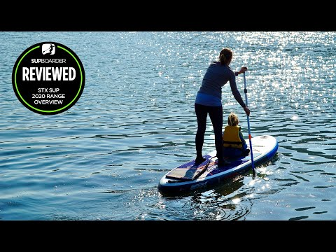 2020 STX inflatable paddleboard range overview
