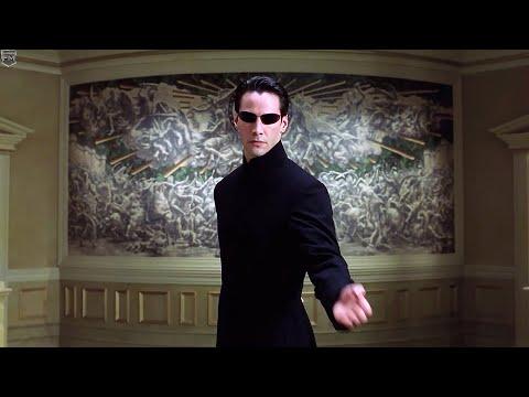 Neo vs Merovingian   The Matrix Reloaded [IMAX]