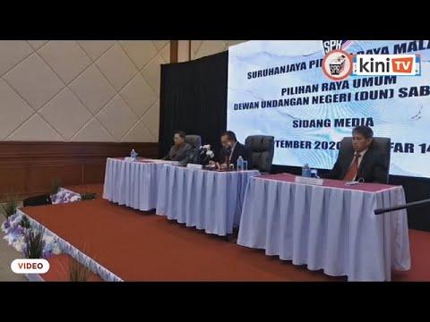 Pengumuman penuh keputusan rasmi PRN Sabah oleh SPR