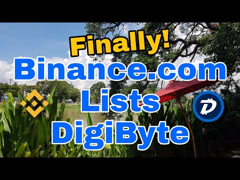 Binance Finally Lists DigiByte. The Dominoes Are About To Fall (In A Good Way!)