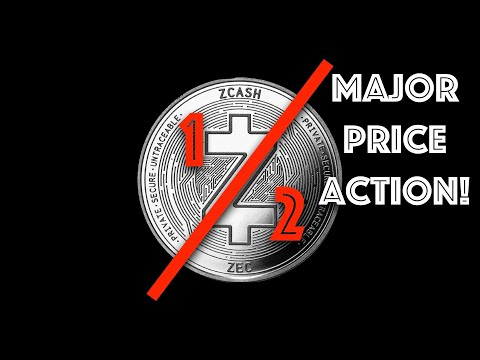 ZCash has it's HALVING on THIS DATE. Expect MAJOR Price Action.