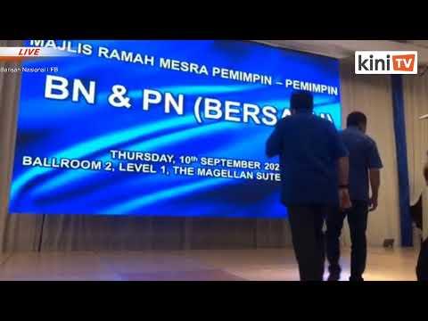 LIVE: Barisan Nasional dan Bersatu umum barisan calon PRN Sabah
