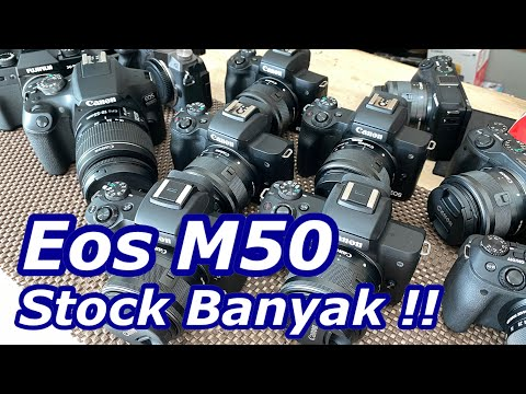 Jual Kamera Canon Eos M50 | 1 Desember 2020