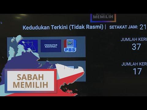 PRN Sabah: Keputusan tidak rasmi – GRS menang majoriti mudah
