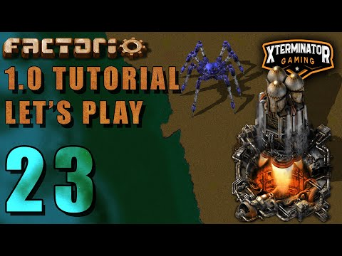 Factorio 1.0 Tutorial Lets Play EP23 – Blueprints & Rails : Introduction Guide For New Players