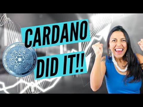 Cardano ADA Did It! Technical Analysis