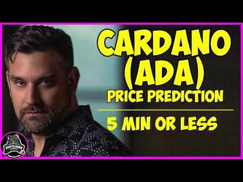 Cardano (ADA) Price Prediction 2021-2022