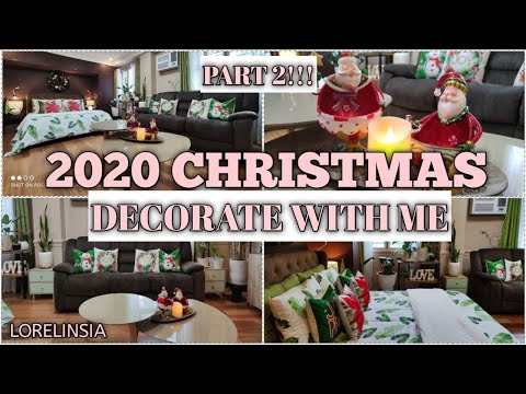 2020 Christmas Decorate with Me Part 2   Lorelin Sia
