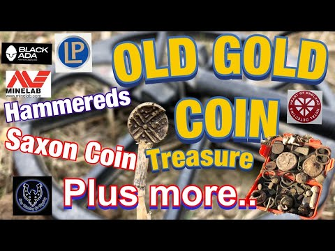 Life Time Finds OMG Epic Session Gold Stater, Saxon Coin, Hammereds and more saved detecting Norfolk