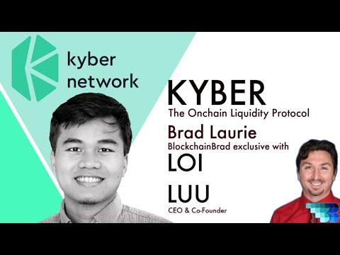 Kyber Network Crypto Interview CEO Loi Luu BlockchainBrad DeFi On-chain Liquidity Protocol Katalyst