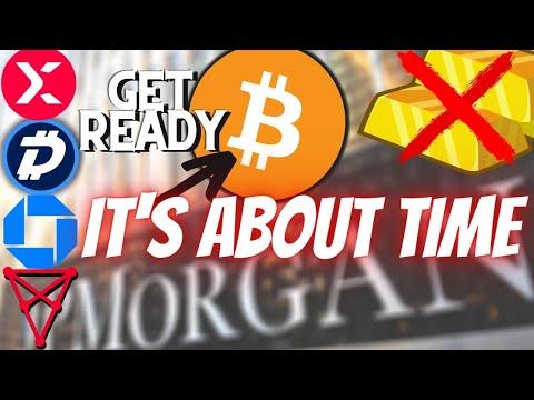 BITCOIN BREAKOUT!! JP Morgan's ONYX! Gold Digibyte, StormX, Chiliz Cryptocurrency News