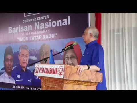 PRN Sabah Tanda Aras Untuk Memiliki Putrajaya – Najib Razak
