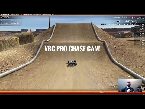CHASE CAM! VRC Pro OffRoad 1/8 E Buggy RC Race at Fear Farm Track April 10 C-MAIN – Netcruzer RC