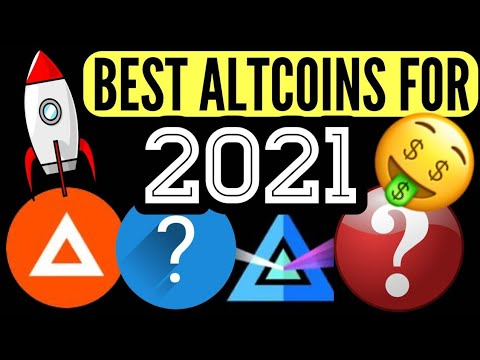 BEST CRYPTO ALTCOINS TO BUY NOW TO GET RICH IN 2021 ! COINS WITH MASSIVE POTENTIAL GAIN 100X
