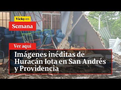 🔴 EXCLUSIVO: Huracán Iota en San Andrés, imágenes inéditas | Vicky en Semana