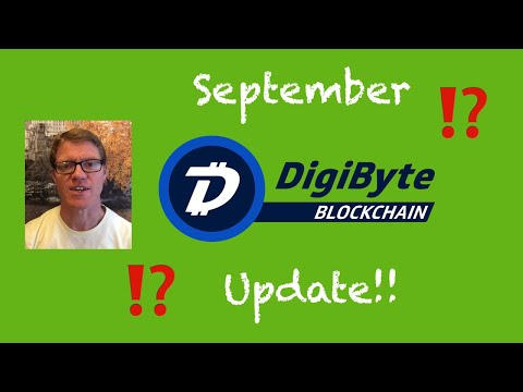 DigiByte September Update
