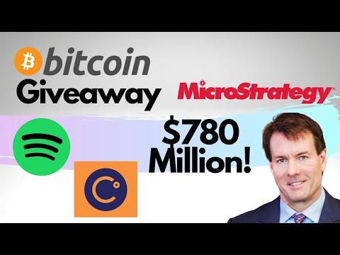 BTC Giveaway + MicroStrategy's $780 Million Bet & Paul Tudor Jones on Crypto