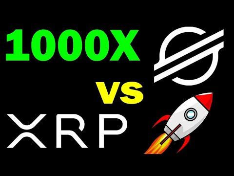 Ripple (XRP) VS Stellar Lumens (XLM)   Which one will 1000x?