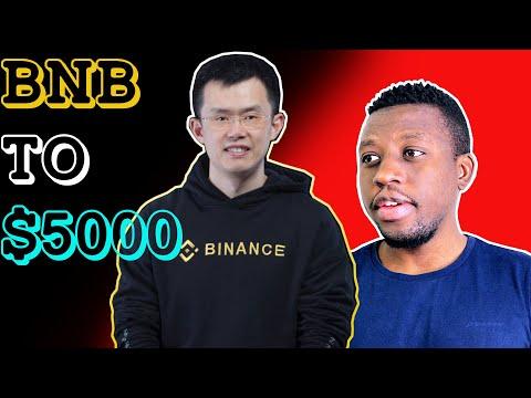 @CZ_Binance Vows To Pump Binance Coin To $5000, BurgerSwap, Burger Token, DEFI, CEFI, DEFI Altcoins