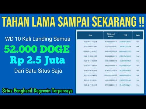 Tahan Lama : WD Landing Terus Total 52.635 Doge / 2.5 Juta !? Situs Mining Dogecoin Terpercaya