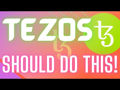 CAN TEZOS (XTZ) COIN PRICE FINALLY GAIN TRACTION??? Cryptocurrency Analysis & News