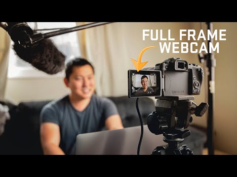 The ULTIMATE Webcam Setup for Live Streaming & Video Calls   Canon EOS RP