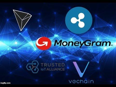 MoneyGram & Ripple Partnership, VeChain & IOT Alliance, Tron, BNB Burn