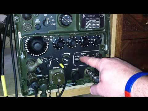 The Clansman VRC-321 Military Radio run through [HD] – M0VST