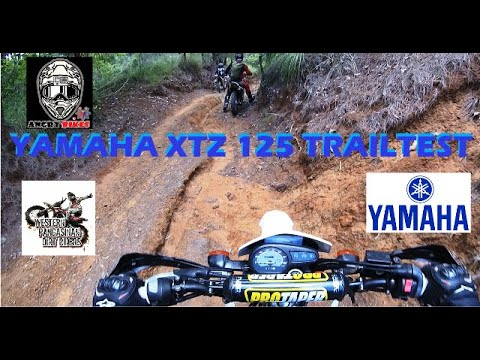YAMAHA XTZ 125 TRAIL REVIEW