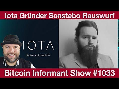 #1033 Milliardär Novogratz Bitcoin Investment, IOTA Rauswurf CoFounder David Sønstebø & Ende der An