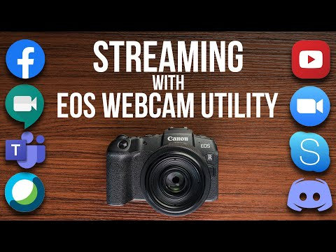 Canon EOS Webcam for Windows – Use your DSLR as a Webcam or Streaming Camera