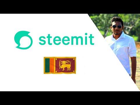 Video 1 : Introduction to Steemit Platform  – (Sinhala|සිංහල)