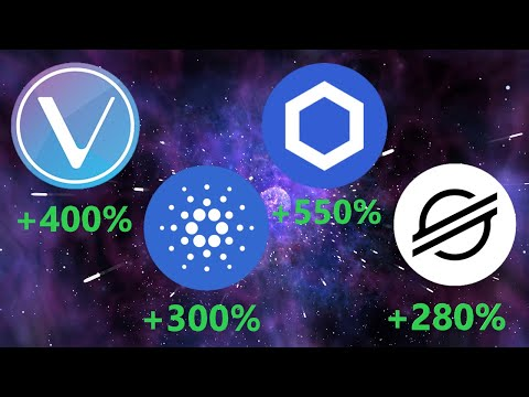Vechain (VET), Cardano (ADA), Chainlink (LINK), Stellar (XLM)   Crypto Analysis (BE QUICK!)