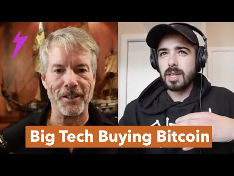 Should Tesla Convert It's Cash To Bitcoin? w/ Michael Saylor
