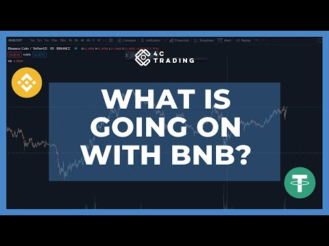 What is going on with BNB? #crypto #binance #trading #4ctrading