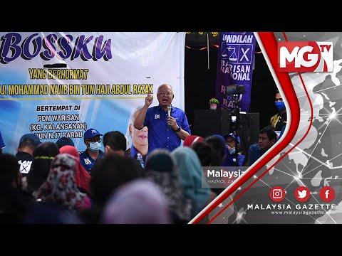 """PRN SABAH : Usik Tempat Ceramah BN, Warisan Dah """"Goyang"""" dengan BN!! – Najib Razak"""