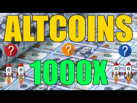 TOP 3 ALTCOINS to 1000X