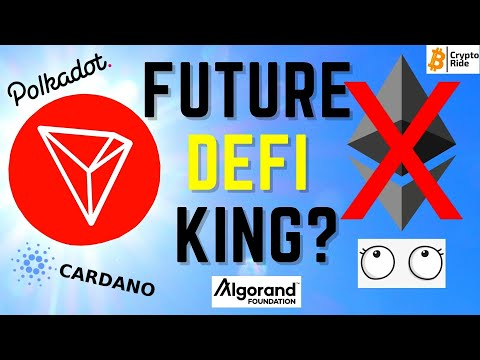 Tron (trx) to become a DeFi Powerhouse?  Ethereum Issues and Competition