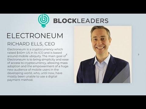 Podcast 34: Richard Ells – Founder of Electroneum