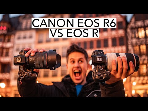 Canon EOS R6 vs EOS R | which camera makes more sense and is it worth to upgrade? [4K]