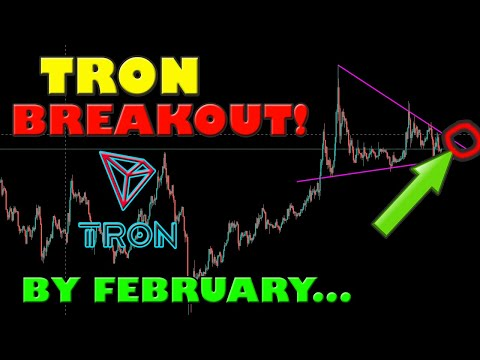 TRON TRX WILL GET A MASSIVE BREAKOUT BY FEBRUARY!