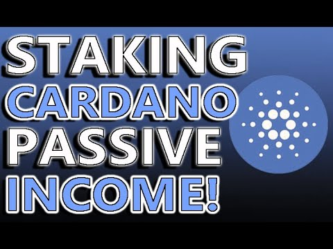Staking Cardano For A Passive Income!   Become A MONEY MAGNET!