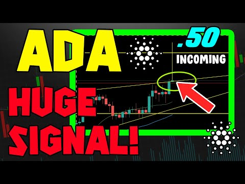 CARDANO PRICE TRIGGERS INSANELY BULLISH SIGNAL! IS THIS ALTCOIN ABOUT TO TAKE OFF?!