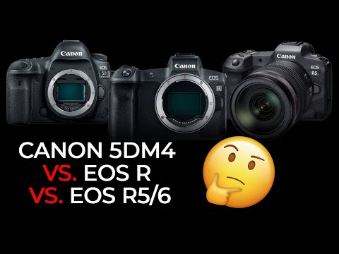 Canon 5D Mark IV vs. EOS R vs. R5/6: Which One Should You Buy?
