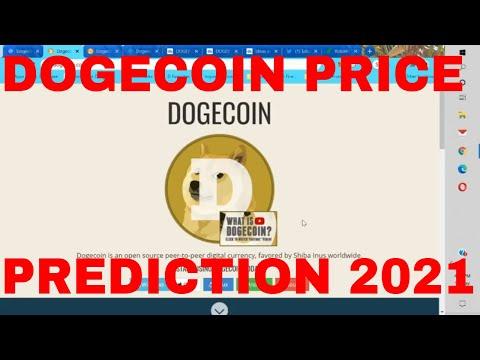 Dogecoin Price Prediction 2021 Dogecoin Future Price Analysis Dogecoin Crypto Bullrun Signal Alert