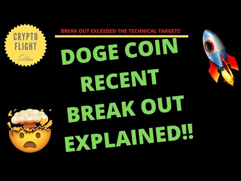 DOGECOIN RECENT BREAK OUT EXPLAINED!! PRICE PREDICTION | TECHNICAL ANALYSIS$ CRYPTO EXPLOSION!!